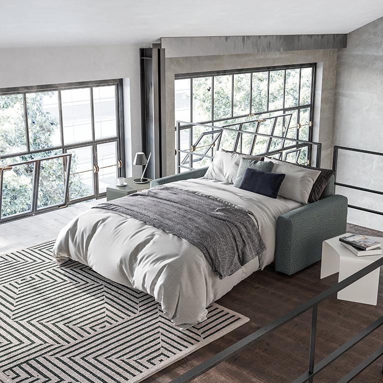comprare divano letto 3 posti poltrone e sofà online