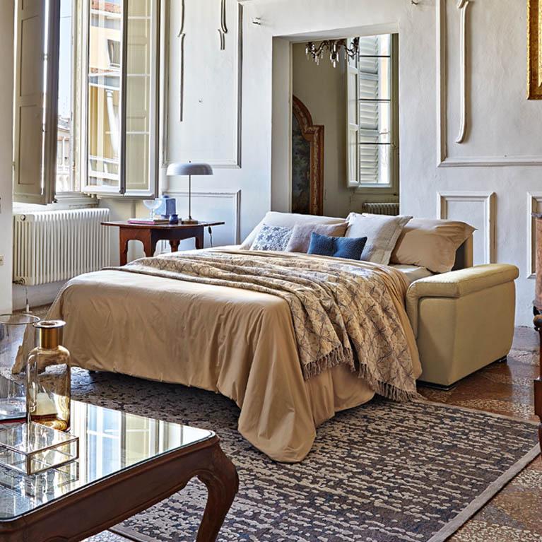 Divani rotondi good vivereverde divano sx divani da - Divano letto rotondo ...